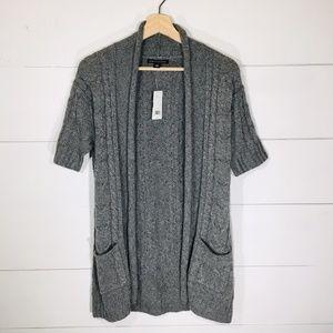 BANANA REPUBLIC Cashmere Bld Cardigan Sweater NEW